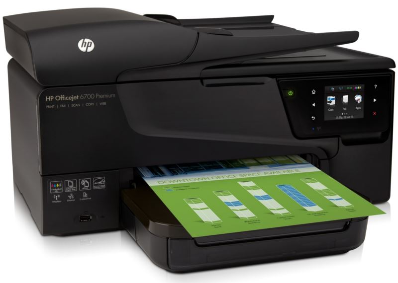 HP Officejet 6700 Premium e-All-in-One 02 - Right