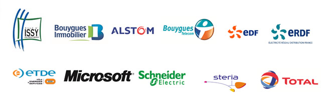 IssyGrid - Issy-Les Moulineaux - Microsoft - Bouygues Immobilier - ALSTOM, Bouygues Telecom - EDF - ERDF - ETDE - Schneider Electric - Steria - Total