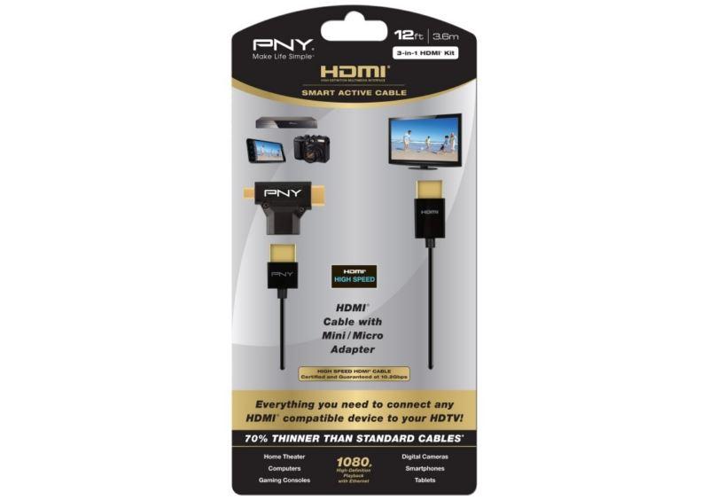 Kit PNY HDMI 3-en-1