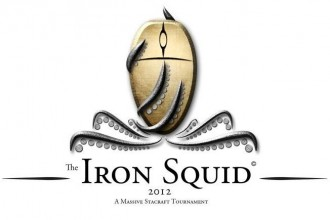Logo The Iron Squid - Starcraft 2 Tournament