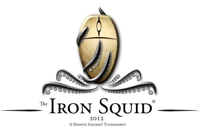 Logo The Iron Squid - Starcraft 2 Tournament