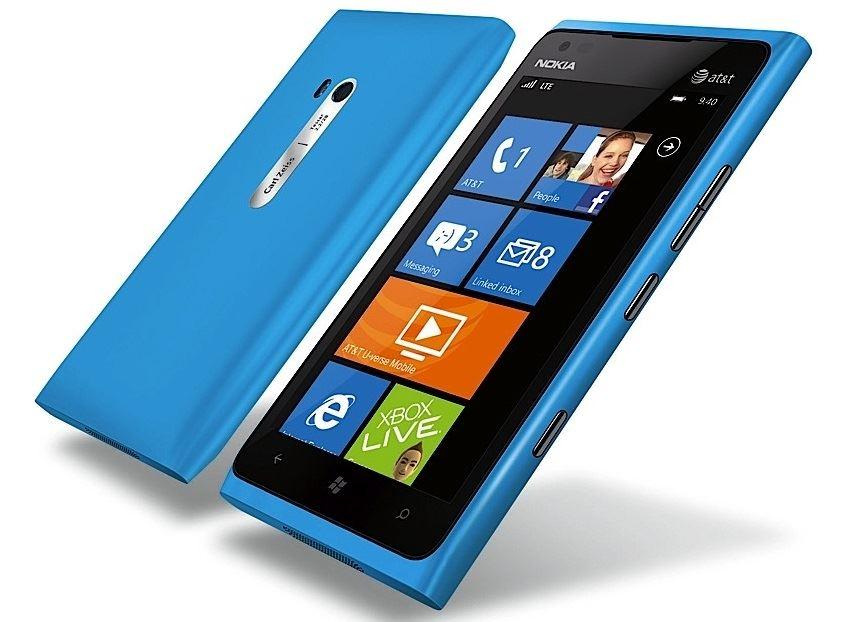 Nokia Lumia 900 - AT&T - Cyan - Bleu