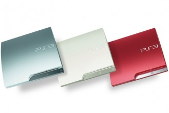 Sony PlayStation 3 - PS3 - Couleurs - Scarlet Red & Classic White & Satin Silver