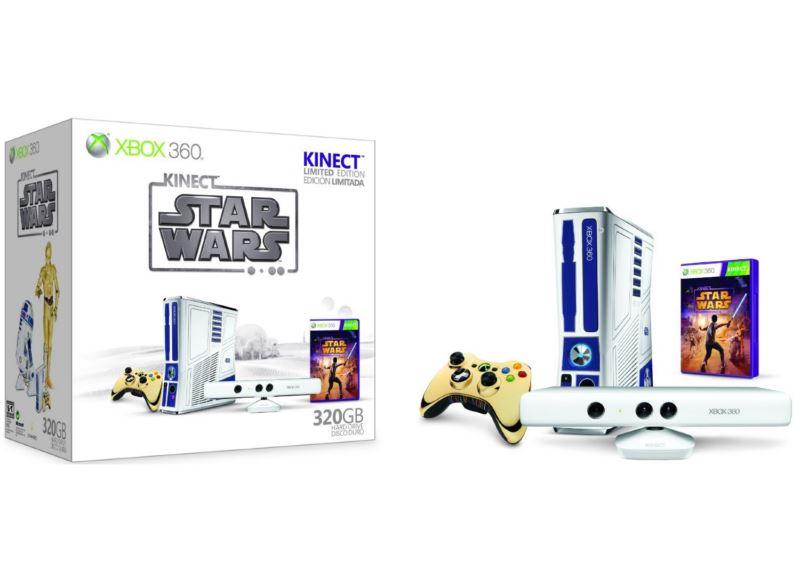 Xbox 360 Edition Limitée Kinect Star Wars
