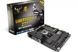 Asus Sabertooth Z77 - TUF (The Ultimate Force) 01