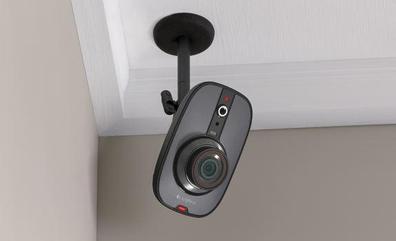 Logitech lance logitech alert 750n indoor master system for Logitech camera exterieur