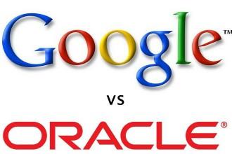 Logo Google vs Oracle (Sun Microsystems)
