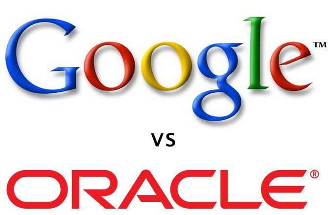 Logo Google vs Oracle (Sun Microsystems)
