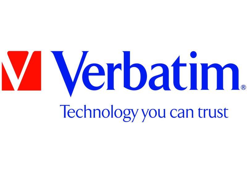 Logo Verbatim - Technology you can trust