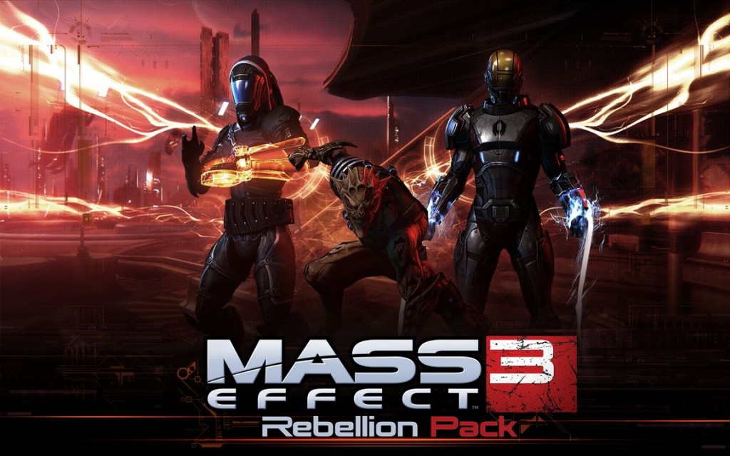 Logo Mass Effect 3 - Rebellion