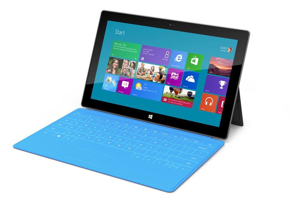 Microsoft Surface - Windows RT (ARM) & Windows 8 Pro (Intel) 02