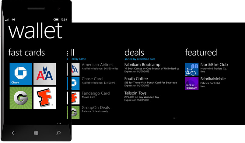 Windows Phone 8 - NFC et Wallet