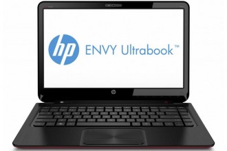 HP Envy 4 front open (Ultrabook)