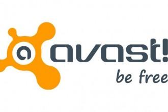 Logo Avast - be free