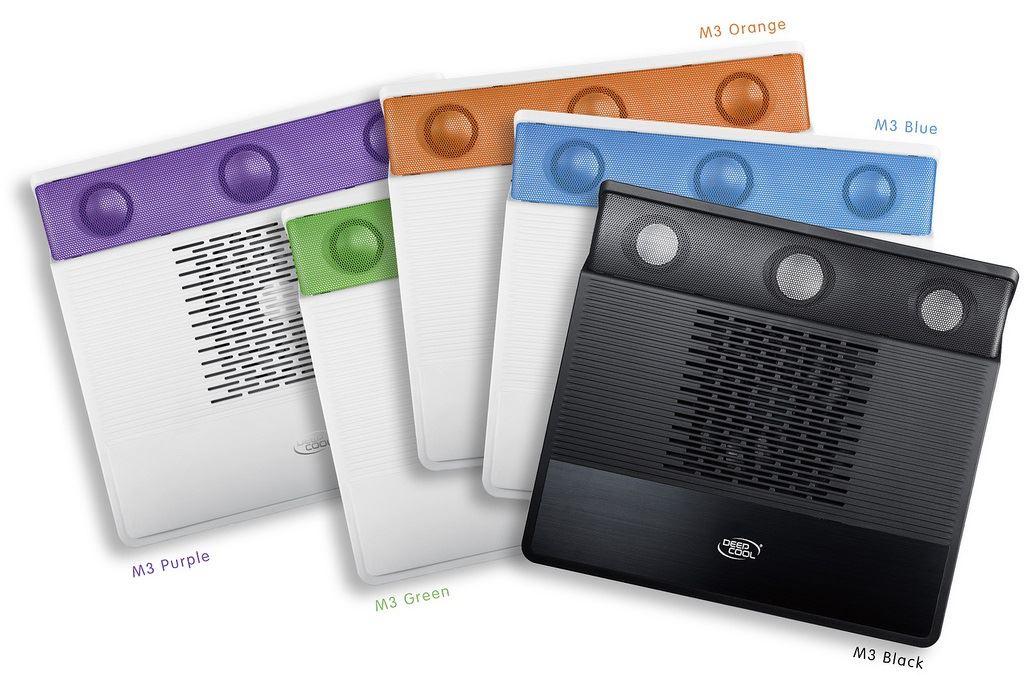 ifa 2012 deepcool notebook cooler m3 un nouveau syst me de refroidissement avec haut parleurs. Black Bedroom Furniture Sets. Home Design Ideas