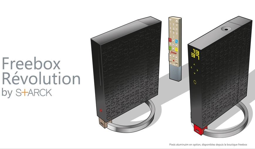 Freebox Revolution by S+ARCK
