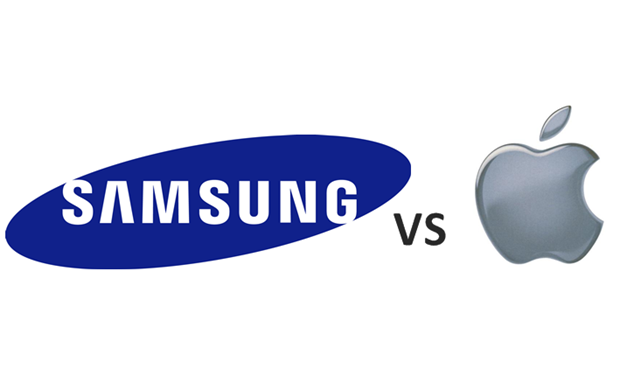 Logo Samsung Vs Apple