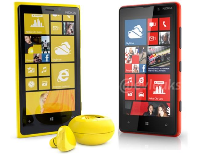 Nokia Lumia 920 & Nokia Lumia 820 - Headset & Speaker