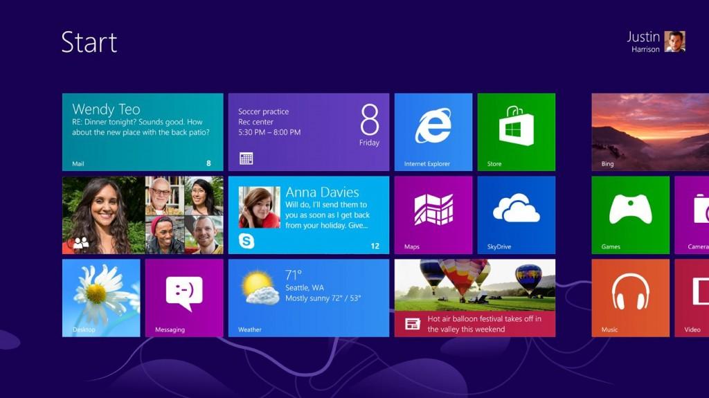 Skype pour Windows 8 - Live Tile Missed Messages