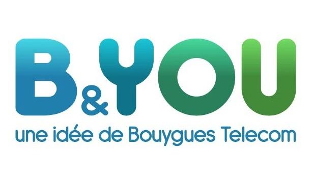 Logo B&YOU by Bouygues Telecom