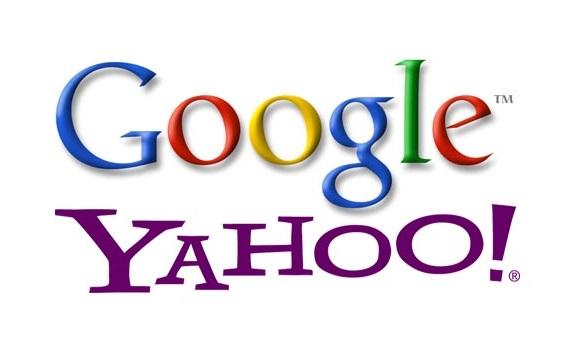 Logo Google - Yahoo