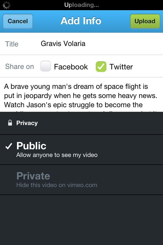 télécharger des vidéos vimeo sur iphone