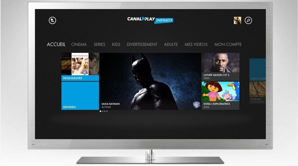 CANAL+ - CANALPLAY INFINITY - Xbox 360 (Xbox Live)