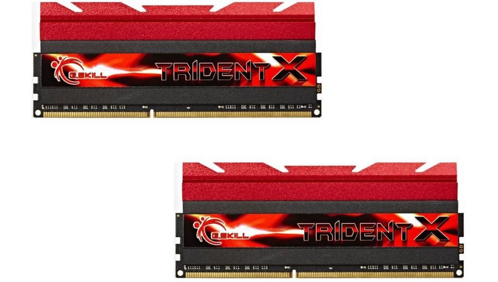 G.Skill Trident X DDR3-2666 CL11 8Go (2x4Go) - F3-2666C11D-8GTXD