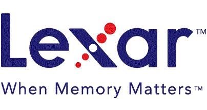 Logo Lexar - When Memory Matters