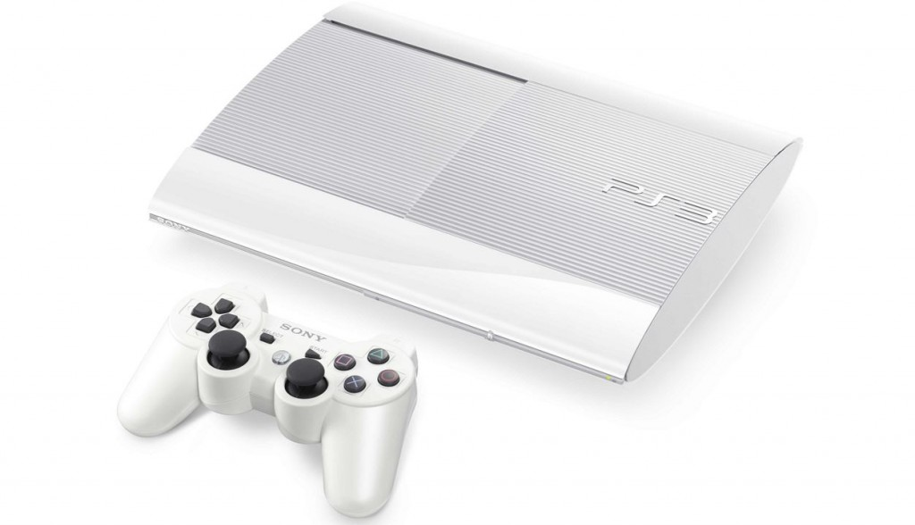 Sony PlayStation 3 500 Go blanche - white