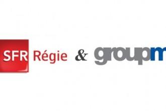 Logo SFR régie & GroupM