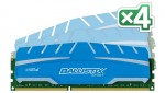 Crucial Ballistix Sport XT - Kit 4 modules