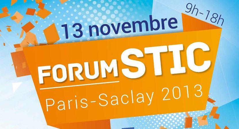 Forum STIC Paris-Saclay 2013