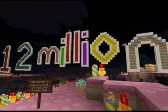 Minecraft for Xbox360 - 12 millions