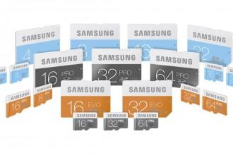 Samsung SD & microSD EVO - PRO Cards