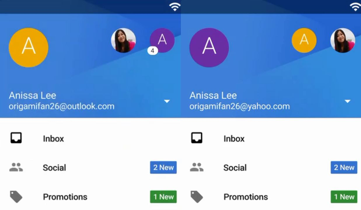 Google Gmail 5.0 for Android