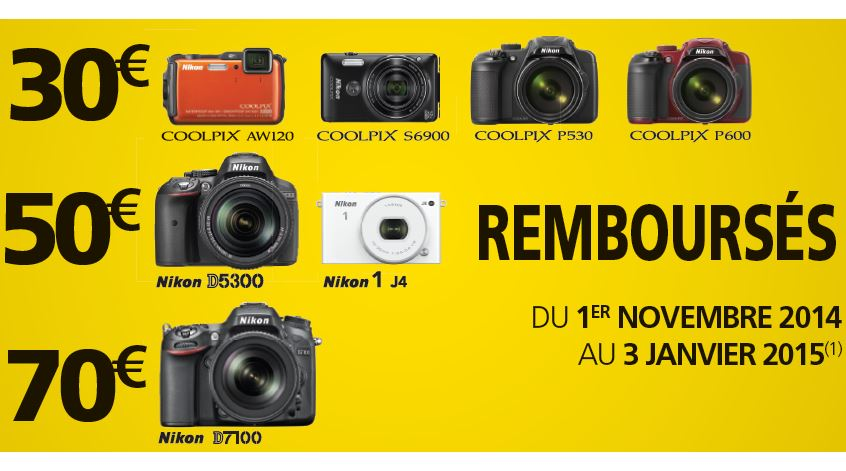 Nikon - Promotions Nov-Janv 2014
