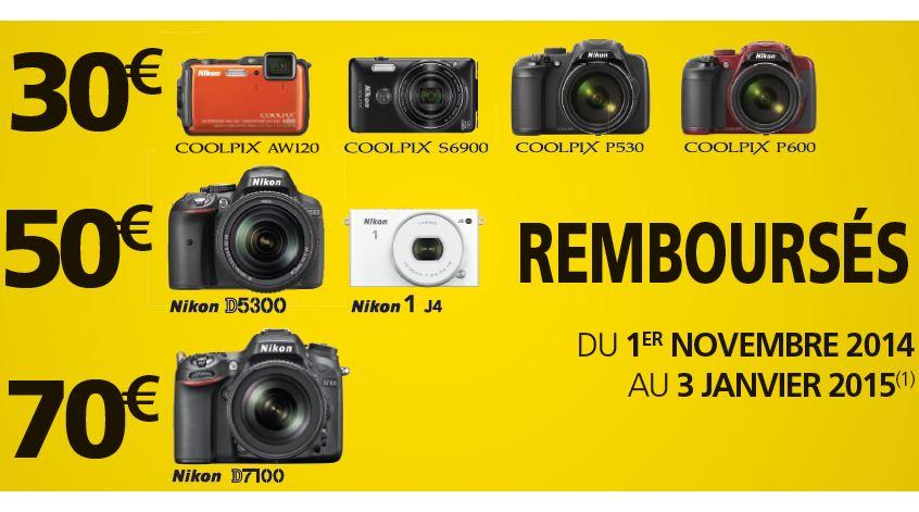 Nikon - Promotions Nov-Janv 2014