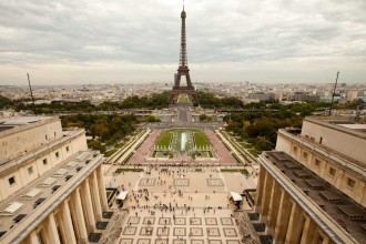 Paris - Trocadero - Tour Eiffel