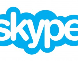 Logo Skype - Flat Design